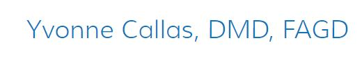 Yvonne Callas, D.M.D., F.A.G.D. in Cresskill