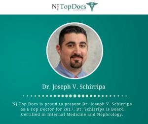 NJ Top Docs Presents Dr  Joseph V  Schirripa of Ocean Renal
