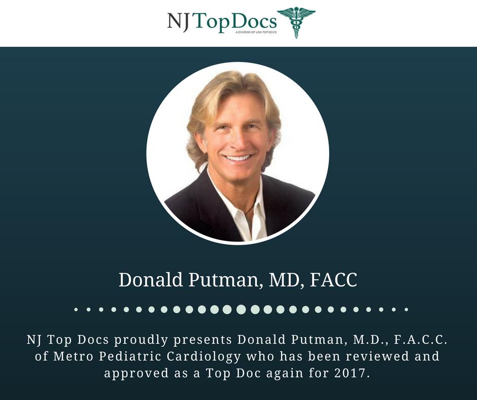 NJ Top Docs Presents Donald Putman, MD, FACC