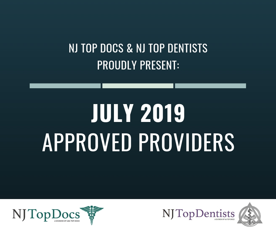 July 2019 Approved Providers