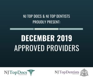 NJ Top Docs Proudly Presents Approved Providers from December 2019