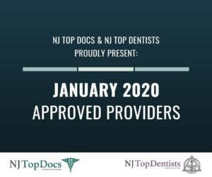 NJ Top Docs Proudly Presents Approved Providers from January 2020