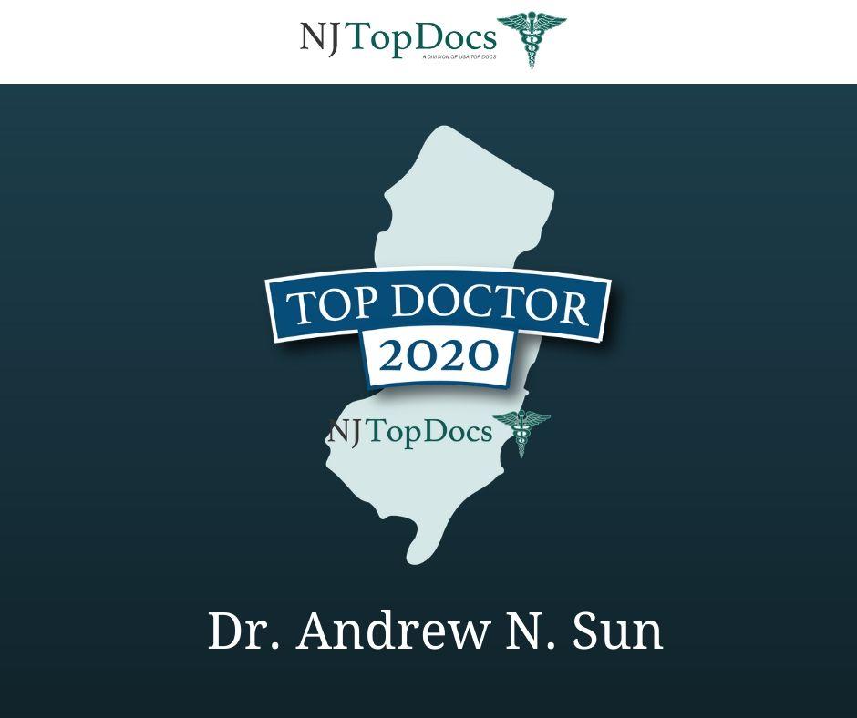 Board-Certified OB/GYN Specialist, Dr. Andrew N. Sun Named